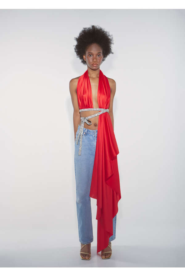 Bianca Top Spicy Red