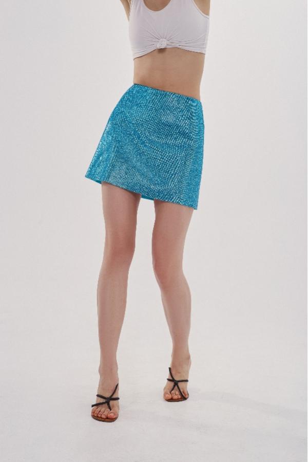 Юбка Camille Aquamarine Blue