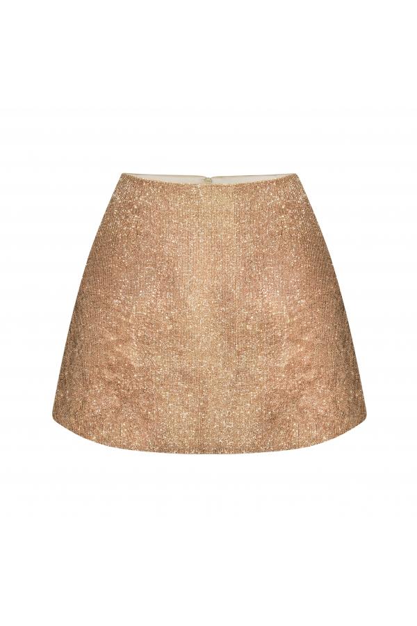 Camille Skirt Vintage Gold