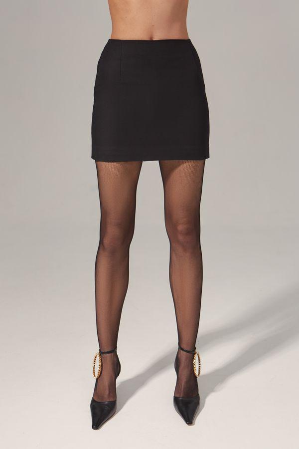 High-Waist classic mini skirt