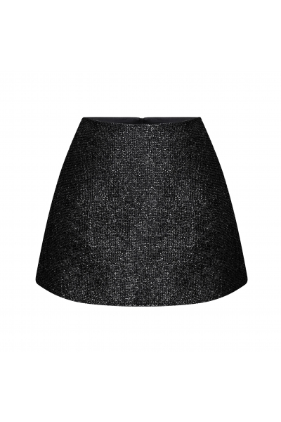 Camille Skirt Midnight Black