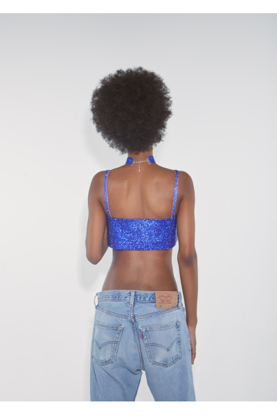 Charlotte Choker Cobalt Blue