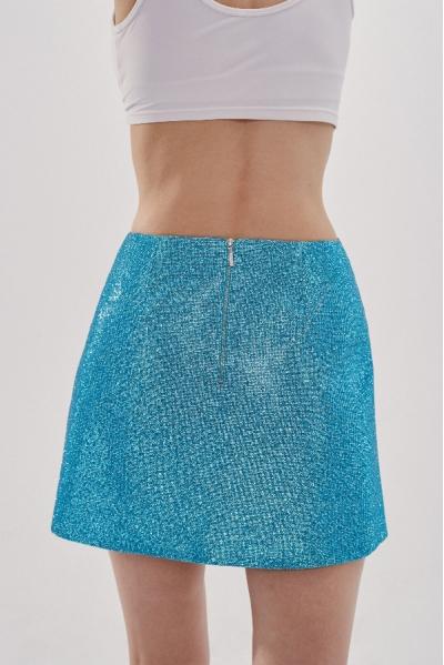 Camille Skirt Aquamarine Blue