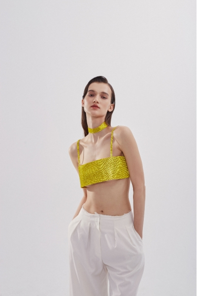 Чокер Charlotte Vibrant Yellow