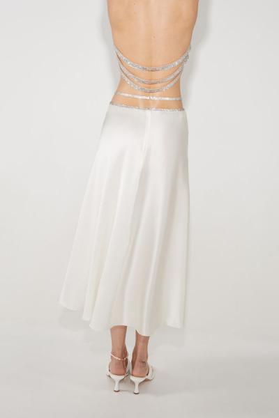 Silk skirt midi
