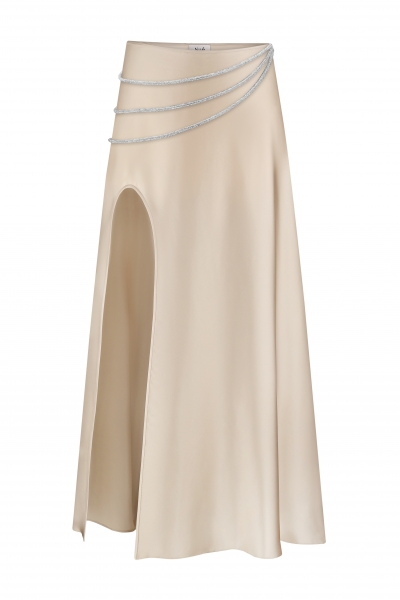 Laetitia silk skirt
