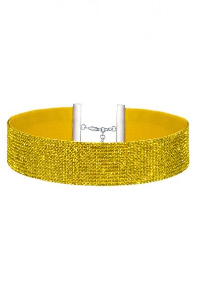 Charlotte Choker Vibrant Yellow