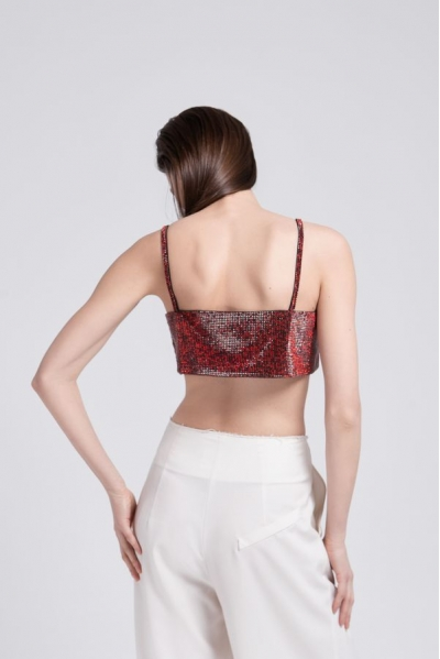 LouLou Top Spicy Red