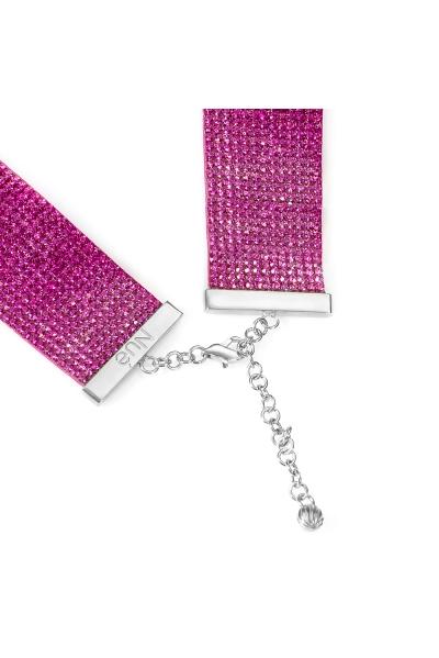 Charlotte Choker Barbie Pink
